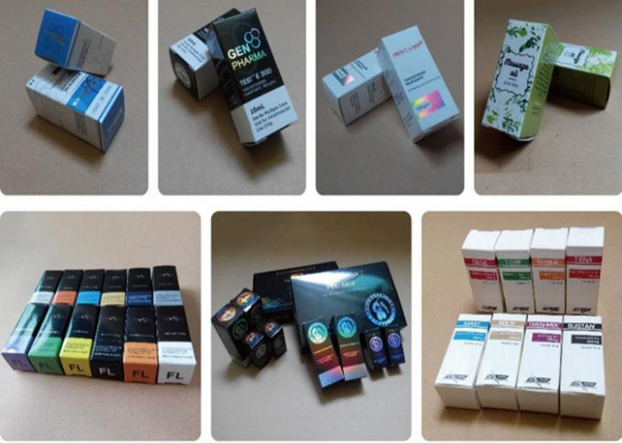 Pharma Glass Vial Labels Sterile Injection Printing Pharmaceutical Packaging