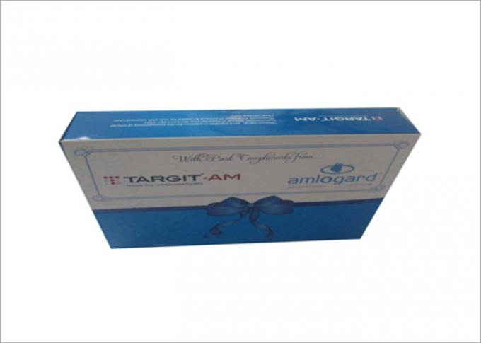 Printed Capsule Medicine Pharmaceutical Packaging Box For Vitamin Packaging