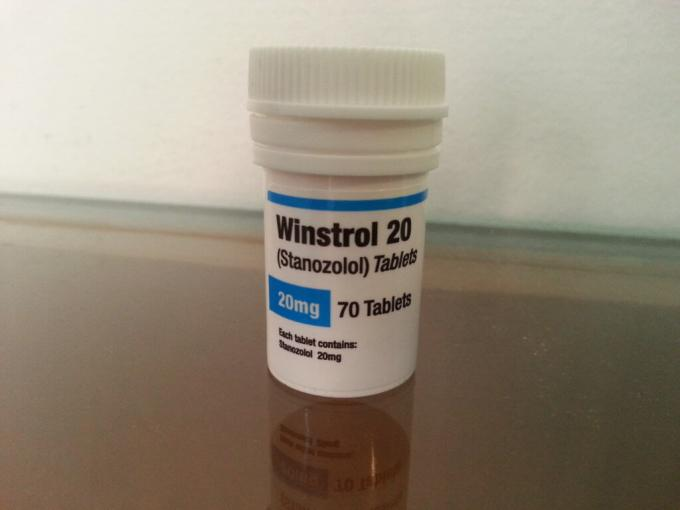Small Waterproof Steroid Vial Labels , Medicine Bottle Label For Winstrol Vial Package