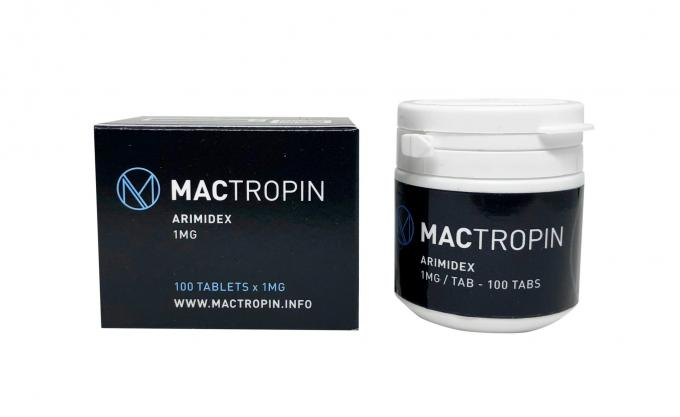 Mactropin Pvc Black Medication Label Stickers For 10ml Glass Vial With Boxes
