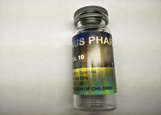 China Aus Pharma 10ml Vial Labels , Custom Hologram Stickers For Glass Containers supplier