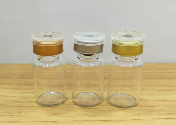 China 10ml Transparent Small Glass Vials Bottles supplier