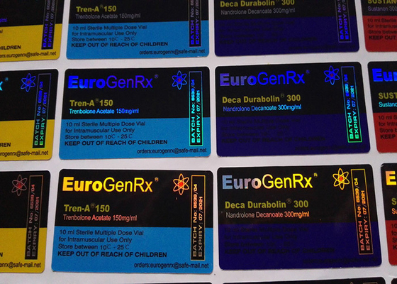 China Euro Gen Rx Deisgn Medication Label Stickers , Strong Adhesive Pharmacy Labels Stickers supplier