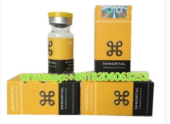 China Immortal Pharmacetical Injection Custom Vial Labels With Boxes , OEM Design supplier