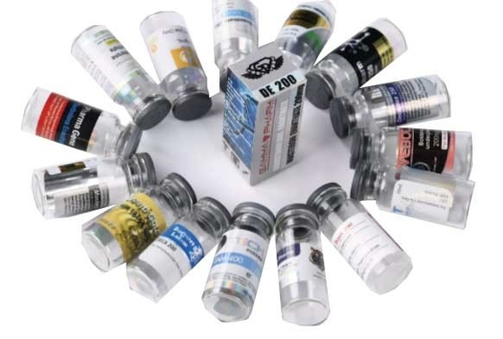 China Compact Adhesive Steroid Vial Sticker Label Printing For Different Designs supplier