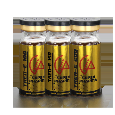 China Gold Color PET Steroid Bottle Labels For Trenbolone Enanthate Product supplier