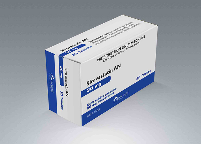 Calcium Tablet Paper Packaging Box Pharmaceutical Use