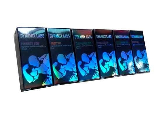 Cardboard 10ml Bottle Boxes Printing Hologram Foil With Glossy Finish