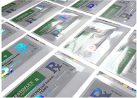 Holographic Prescription Vial Labels / Custom Adhesive Stickers Free Samples