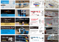 Custom Logo Self Adhesive Labels / Pill Bottle Label CMYK 4 Color Printing