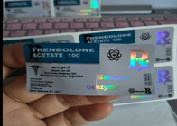 Glossy Laser Hologram Adhesive Sticker Labels For Anabolic Steroids Packaging