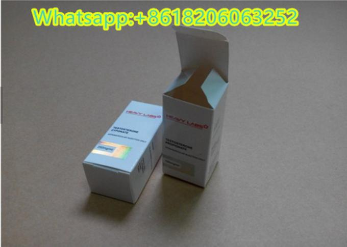 Laser Foil Stamped 10ML Vial Boxes Foldable Paper For 10 Ml Glass Bottle